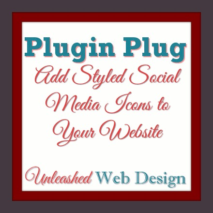 Add Styled Social Media Icons to Your Website
